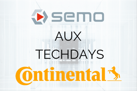 SEMO aux techdays Continental