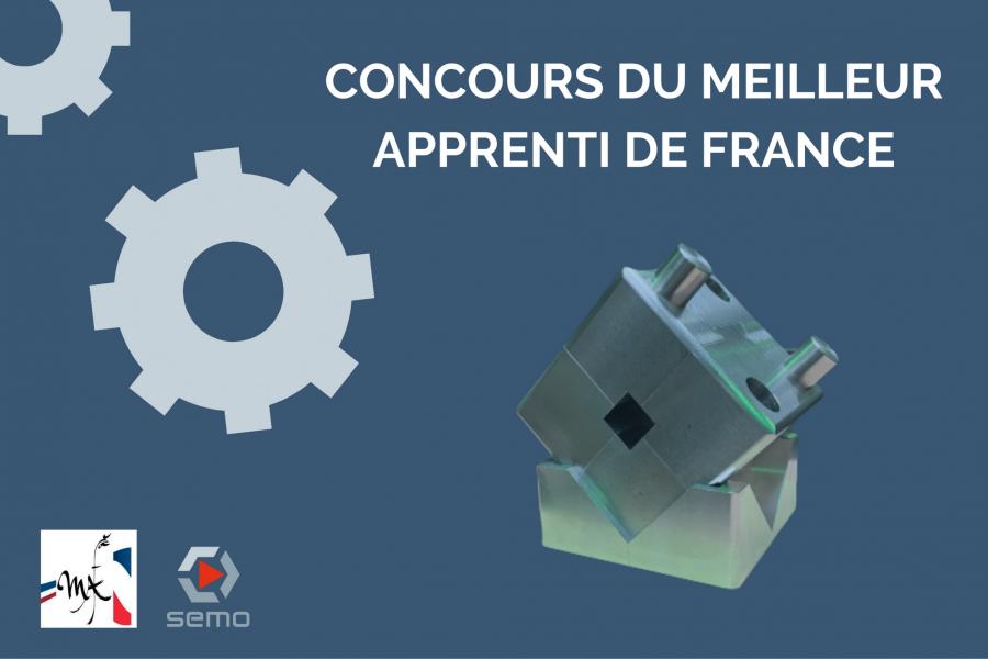 Notre Apprenti, COROENE Adrien, participe au Concours du meilleur apprentie de France 2021