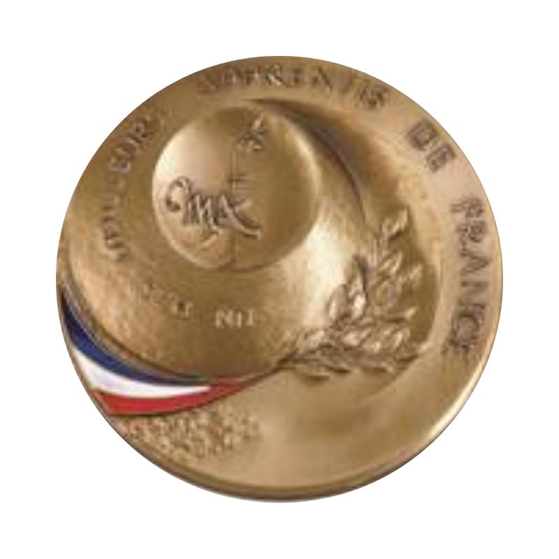 médaille de bronze MAF
