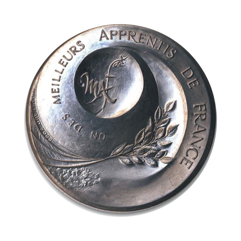 médaille d'argent MAF