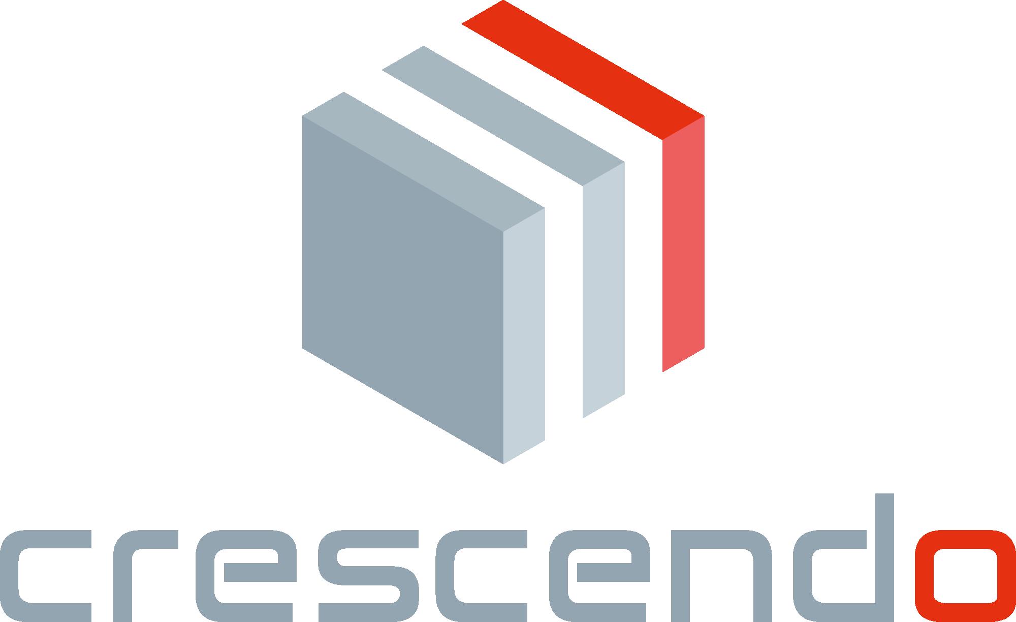 Logo crescendo innovation machine spéciales postes modulaires
