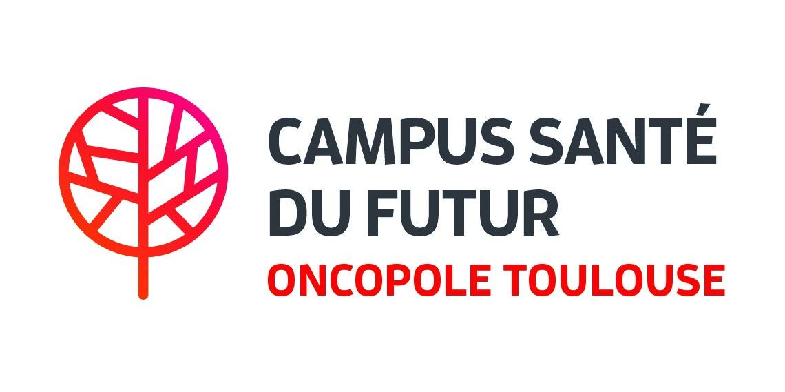 Logo campus oncopole lieu de la course les foulées des entreprises 2019