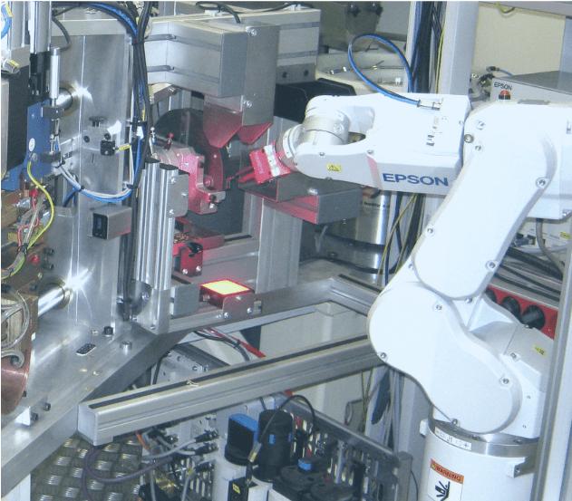 INTEGRATION DE ROBOTS VISION  COBOT