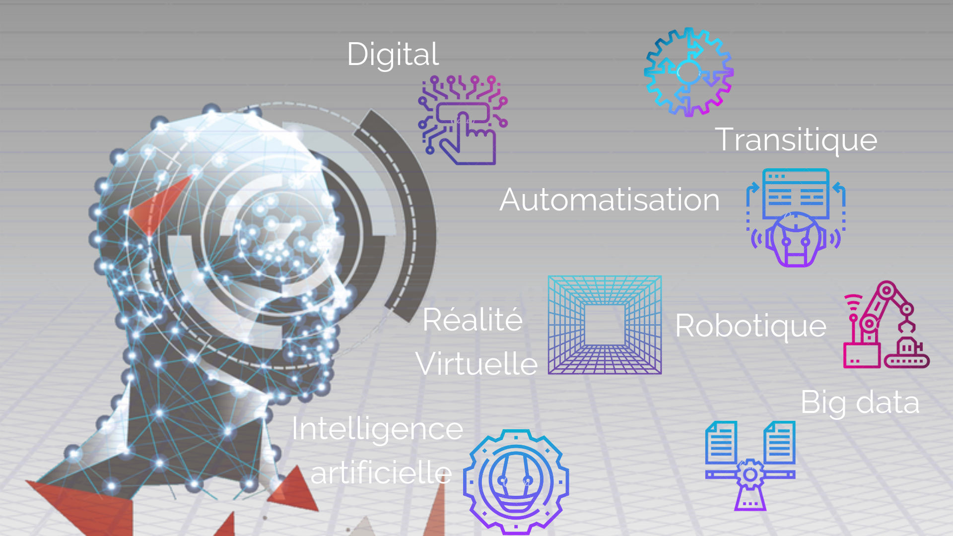 inforgraphie sujets abordés lors du SHIFT Robotique Transitique Automatisation