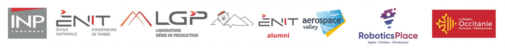 PARTENAIRES DU SHIFT : INP, ENIT, LGP, Aerospace valley, Robotics Place, Région Occitanie