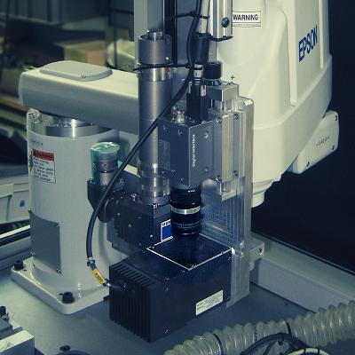 Contrôle par vision de soudure laser pour l'intégration électronique