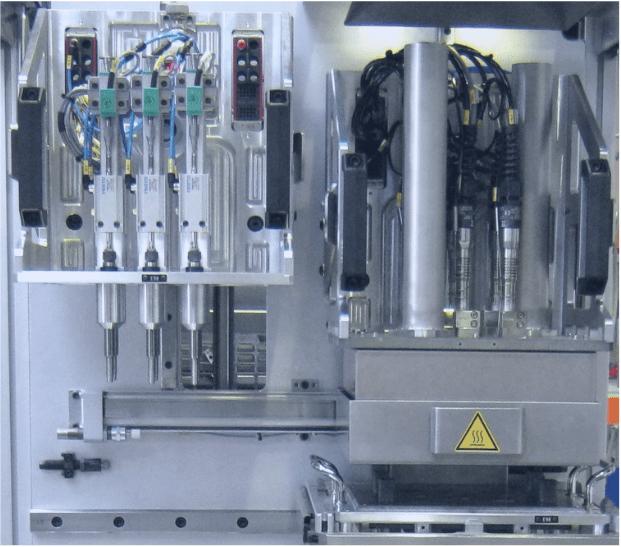 SEMO machines spéciales bouterollage solution piour l'intégration électronique