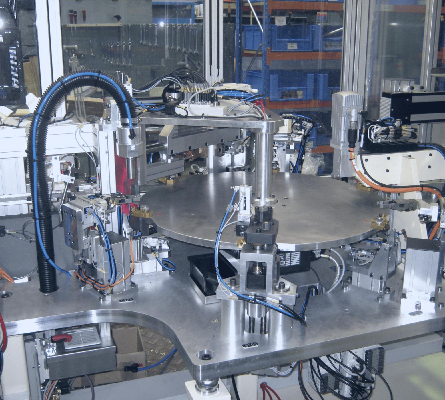 SYSTÈME PLATEAU INDEXE MACHINES SPÉCIALES TOULOUSE